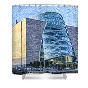 Convention Centre Dublin Republic Of Ireland Shower Curtain