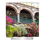 Convento De La Popa Cartagena Shower Curtain