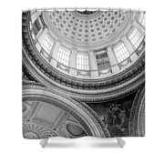 Converging Curves Shower Curtain