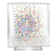 Convexity Shower Curtain