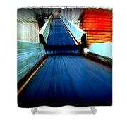 Conveyor Shower Curtain