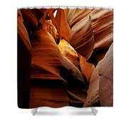 Convolusions Shower Curtain by Kathy McClure