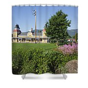 Conway Scenic Railroad - North Conway New Hampshire Usa Shower Curtain