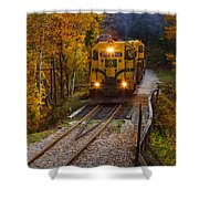 Conway Scenic Railway Shower Curtain