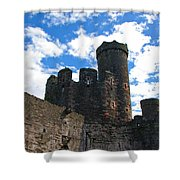 Conwy Castle Shower Curtain