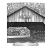 Conyers Covered Bridge Shower Curtain