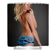 Cookie Monster 2 Shower Curtain