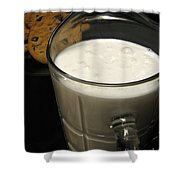 Cookies And Milk Shower Curtain