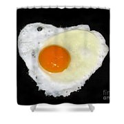 Cooking With Love Series. Breakfast For The Loved One Shower Curtain