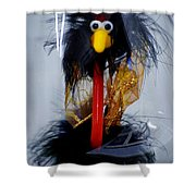 Cookoo Under Glass Shower Curtain
