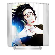 Cool As - Self Portrait Shower Curtain