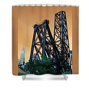 Cool Cleveland Shower Curtain