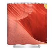 Cool Desert Colors Shower Curtain
