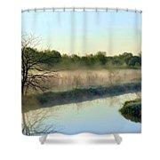 Cool Dreams Shower Curtain