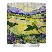 Cool Grass Shower Curtain