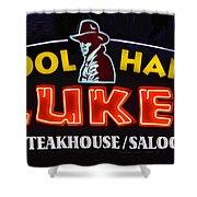Cool Hand Lukes Shower Curtain