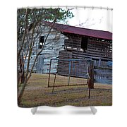 Cool Nights Shower Curtain