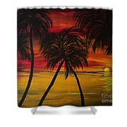 Cool Runnings Shower Curtain