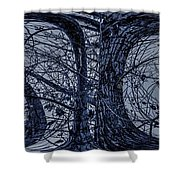Cool Shades Dude Shower Curtain