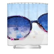 Cool Shades Shower Curtain