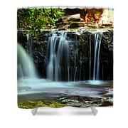 Cool Spring Shower Curtain