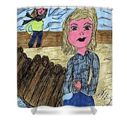 Cooler Weather Cooler Days Shower Curtain