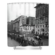 Coolidge Inauguration, 1925 Shower Curtain