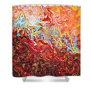 Cooling Lava Shower Curtain