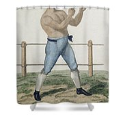Cooper The Gipsy, Engraved By P Shower Curtain