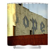 Coopers Ghost Sign 14476 Shower Curtain