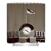 Coors Field - Colorado Rockies 16 Shower Curtain