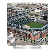 Coors Field Denver Shower Curtain