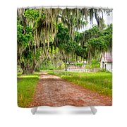 Coosaw At Dusk Shower Curtain