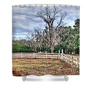 Coosaw - Cloudy Day Shower Curtain