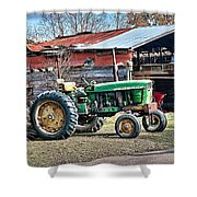Coosaw - John Deere Tractor Shower Curtain