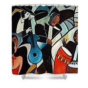 Copacabana Shower Curtain