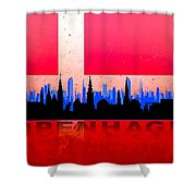 Copenhagen City Shower Curtain