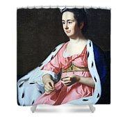 Copley's Abigail Smith Babcock Or Mrs. Adam Babcock Shower Curtain