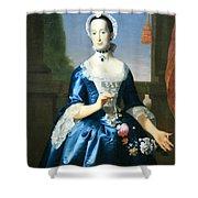 Copley's Anne Fairchild Bowler -- Mrs. Metcalf Bowler Shower Curtain