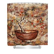 Copper Bowl Shower Curtain