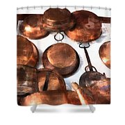 Copper - Featured In Inanimate Objects Group Shower Curtain