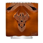 Copper Jewel Shower Curtain
