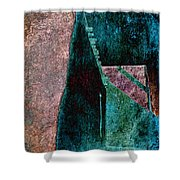 Copper Plate Shower Curtain