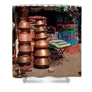 Copper Pots Shower Curtain