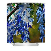 Copper Stems Shower Curtain