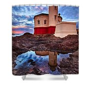 Coquille Rising Shower Curtain