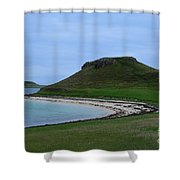 Coral Beach On The Isle Of Skye Shower Curtain