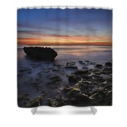 Coral Cove Beach At Dawn Shower Curtain