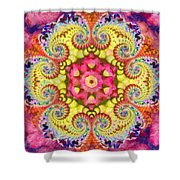Coral Ecstacy Shower Curtain