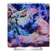 Coral Heaven Shower Curtain